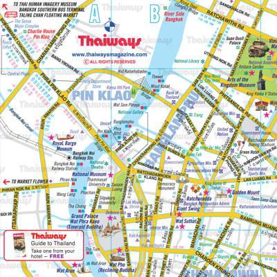 Bangkok Maps
