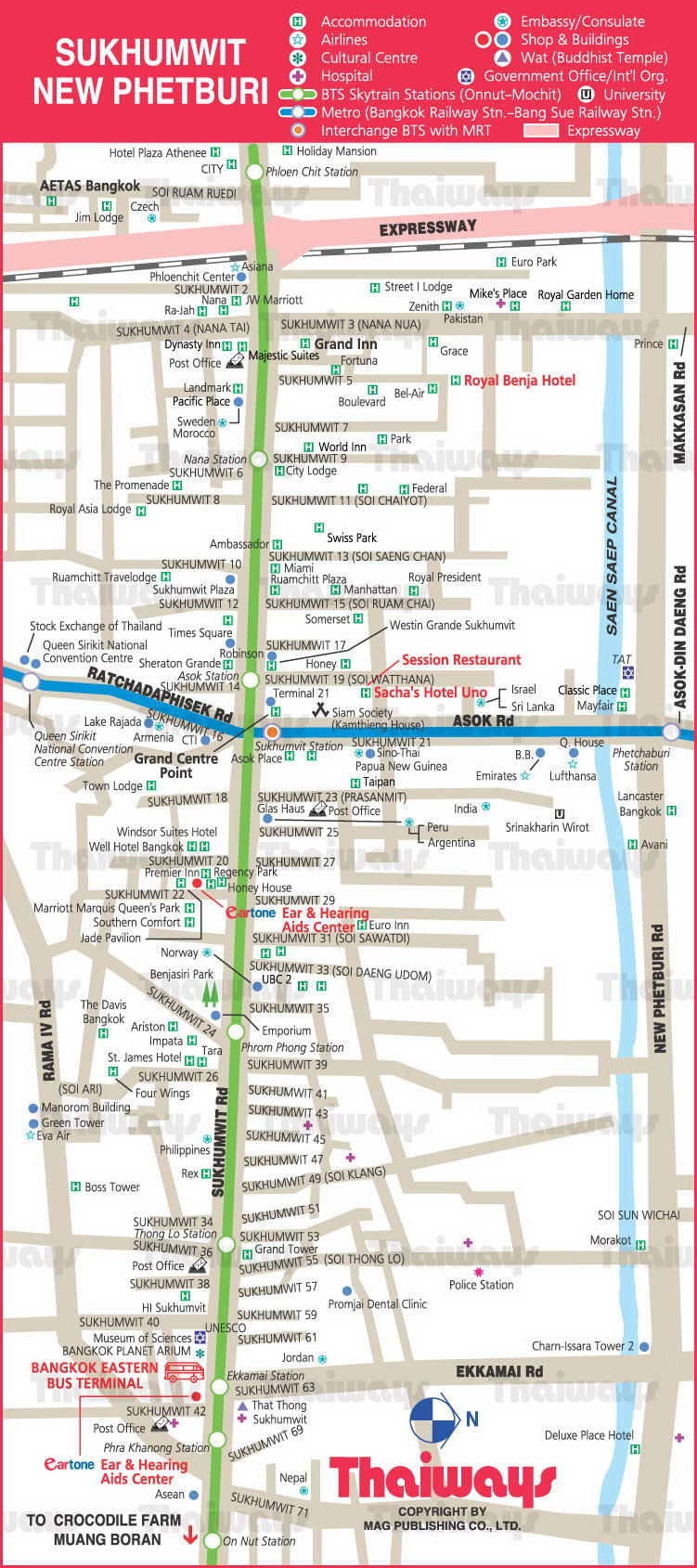sukhumvit new phetburi map