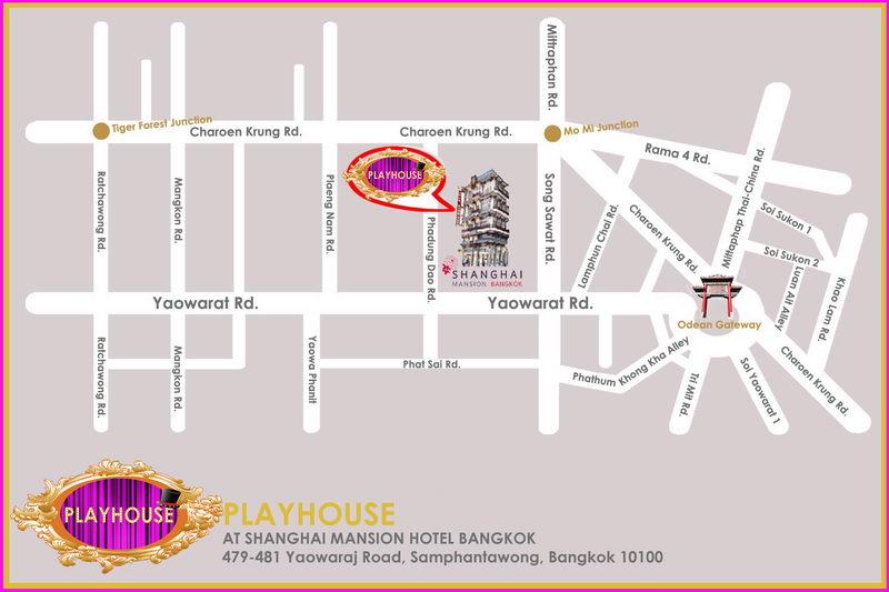 Bangkok Map