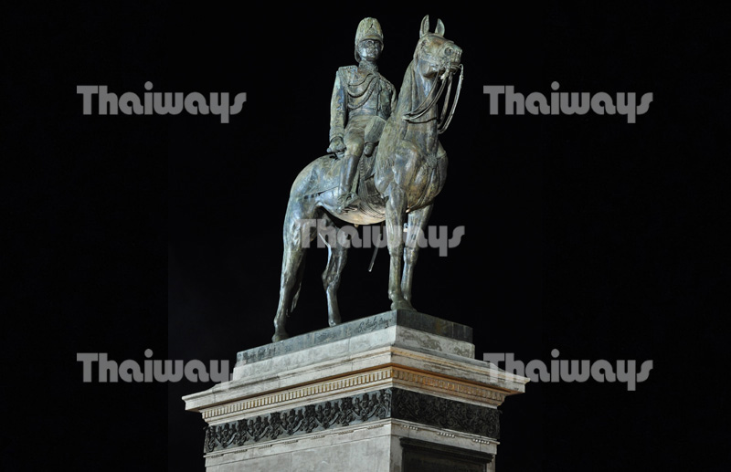 The Equestrian Statue of King Rama V
