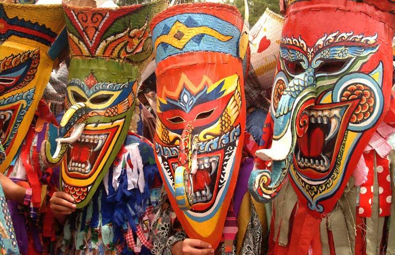 Phi Ta Khon Festival